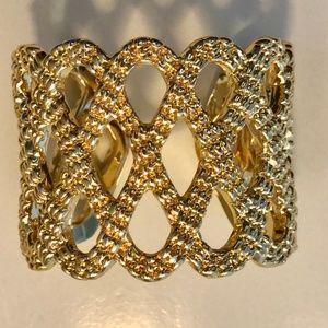 Lilly Pulitzer Lattice Cuff  Bracelet New